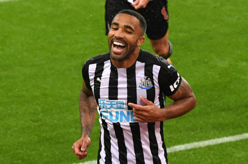 Callum Wilson of Newcastle United. (Photo by Stu Forster/Getty Images)