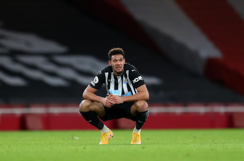 Joelinton of Newcastle United. (Photo by Catherine Ivill/Getty Images)