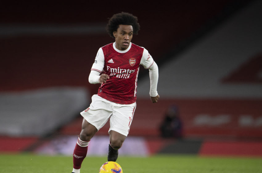 Willian during the Premier League match between Arsenal and Newcastle United F.C. (Photo by Visionhaus)