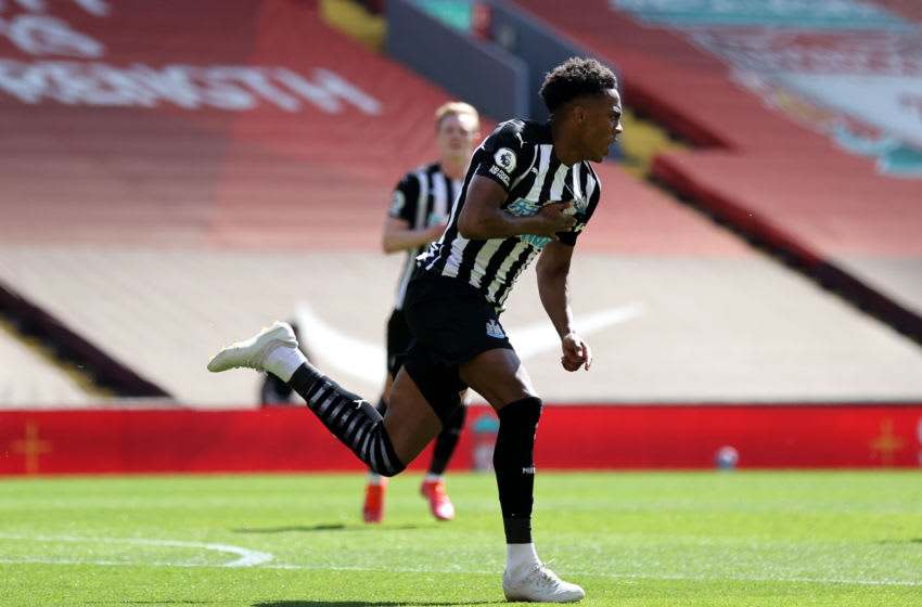 Joe Willock of Newcastle United. (Photo by David Klein - Pool/Getty Images)