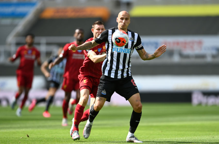 Jonjo Shelvey of Newcastle United. (Photo by Laurence Griffiths/Getty Images)