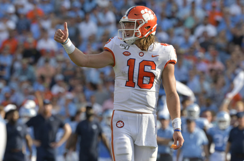 Trevor Lawrence, 2021 NFL Draft (Photo by Grant Halverson/Getty Images)