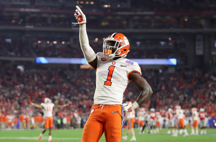 2021 NFL Draft prospect, Derion Kendrick (Photo by Christian Petersen/Getty Images)