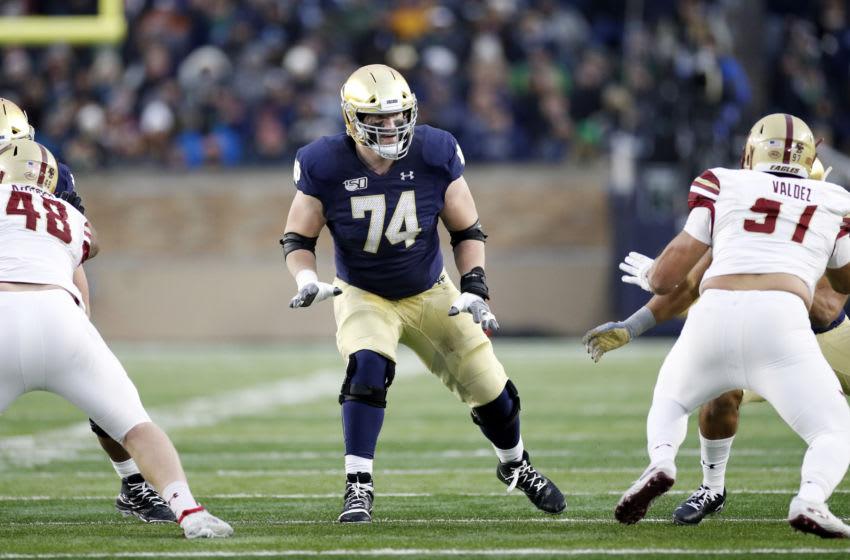 Liam Eichenberg, 2021 NFL Draft (Photo by Joe Robbins/Getty Images)
