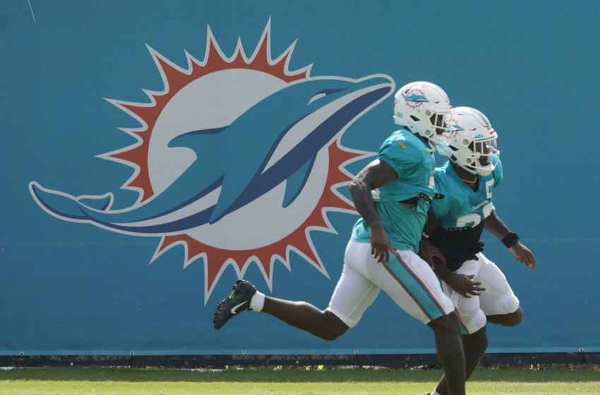 Miami Dolphins 2021 NFL Draft needs (Photo by Mark Brown/Getty Images)