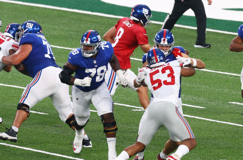 Andrew Thomas, New York Giants (Photo by Mike Stobe/Getty Images)