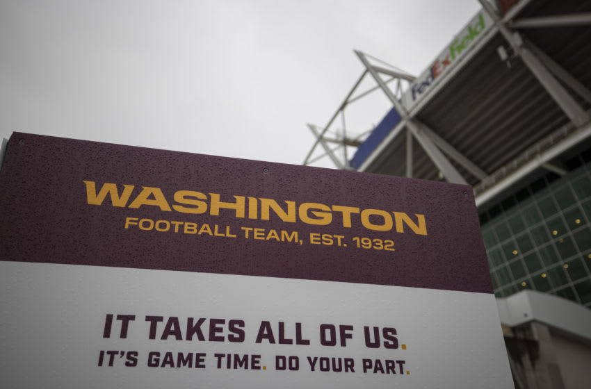 Washington Football Team 2021 NFL mock draft (Photo by Scott Taetsch/Getty Images)