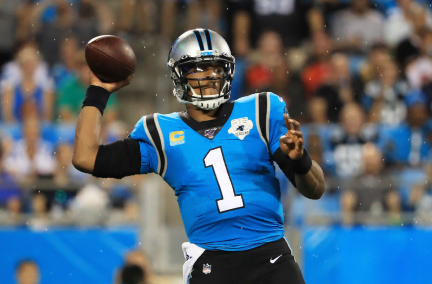 Quarterback Cam Newton #1 of the Carolina Panthers (Photo by Streeter Lecka/Getty Images)