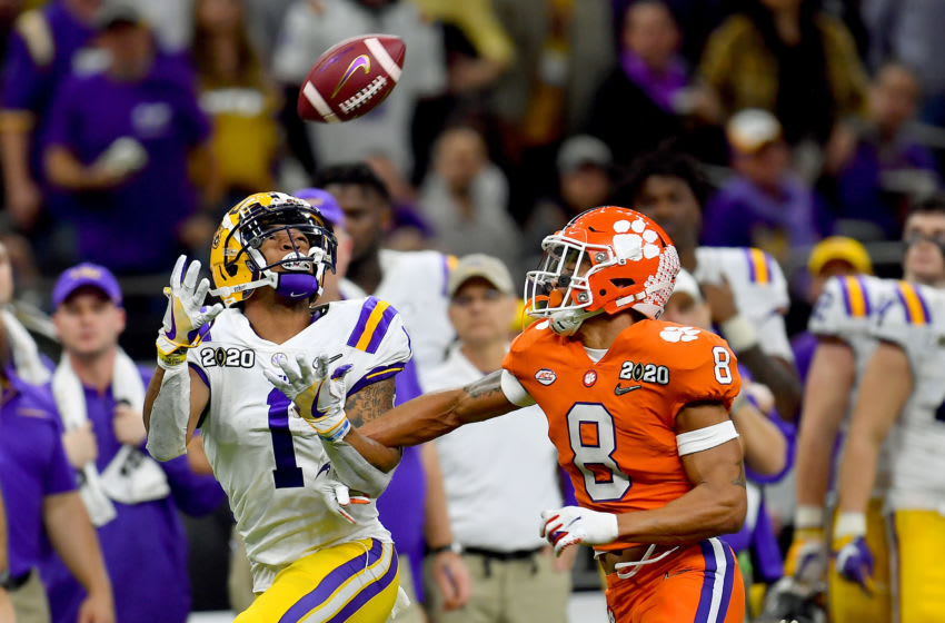 2021 NFL Draft prospect Ja'Marr Chase #1 of the LSU Tigers (Photo by Alika Jenner/Getty Images)