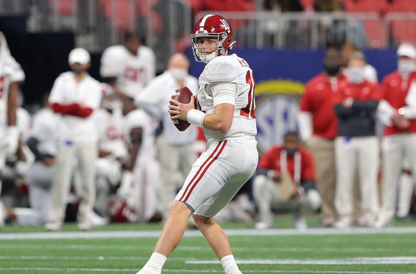 Alabama quarterback Mac Jones (Photo by Kevin C. Cox/Getty Images)