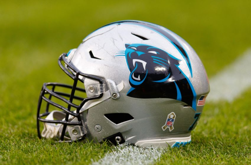 Carolina Panthers helmet (Photo by Jeff Hanisch-USA TODAY Sports)