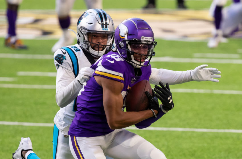 Minnesota Vikings rookie wide receiver Justin Jefferson continues to shine (Photo by Brad Rempel-USA TODAY Sports)