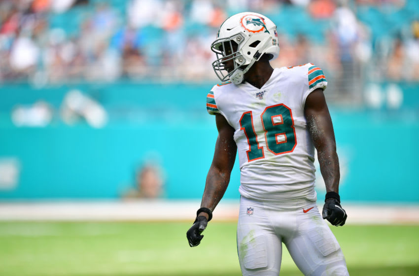 Miami Dolphins, Preston Williams (Photo by Mark Brown/Getty Images)