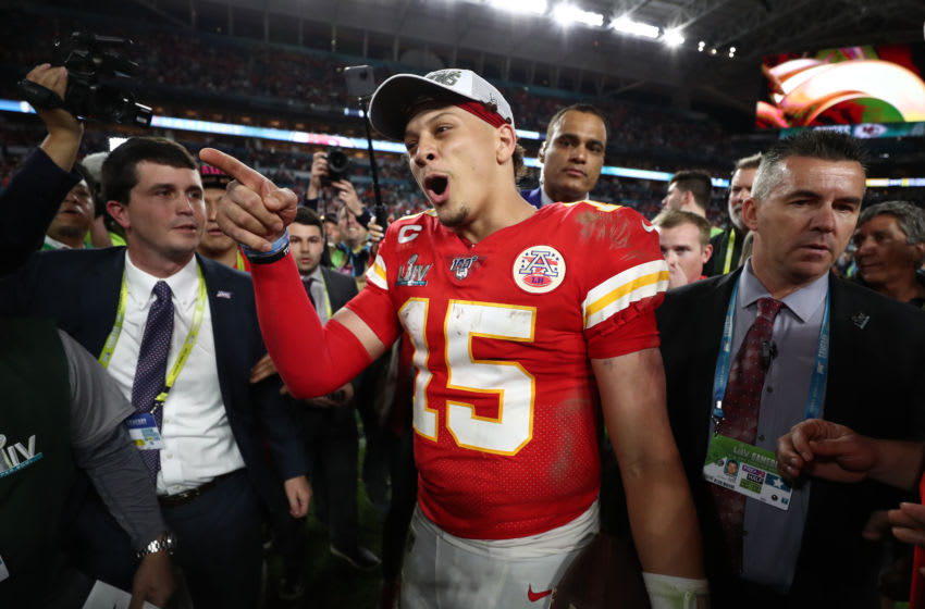 Patrick Mahomes, Kansas City Chiefs (Photo by Jamie Squire/Getty Images)