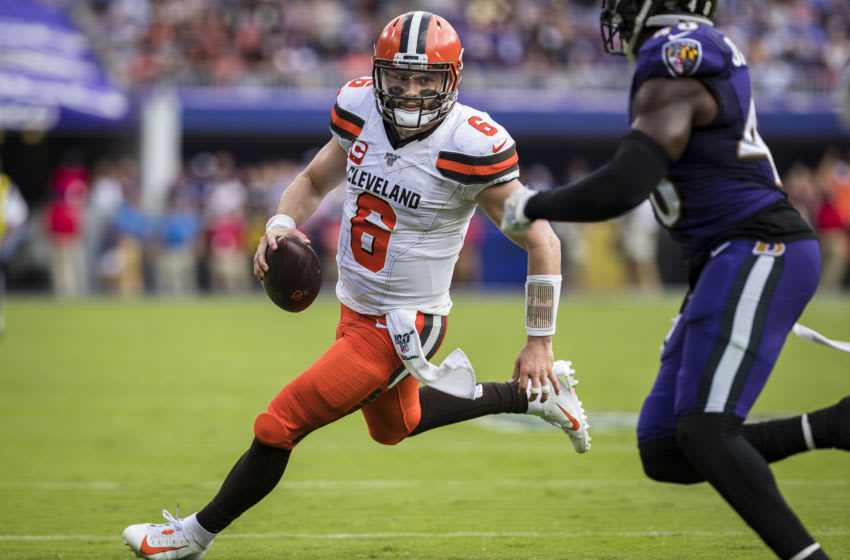 Baker Mayfield, Cleveland Browns (Photo by Scott Taetsch/Getty Images)