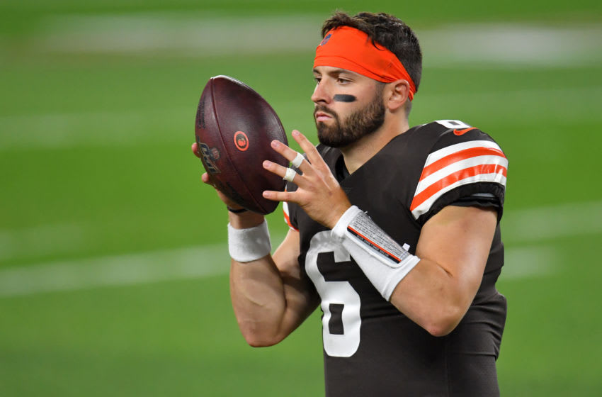 Cleveland Browns, Baker Mayfield (Photo by Jason Miller/Getty Images)