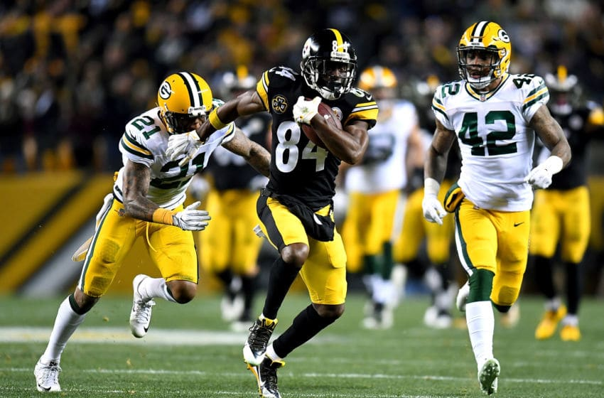 Green Bay Packers, Antonio Brown (Photo by Joe Sargent/Getty Images)