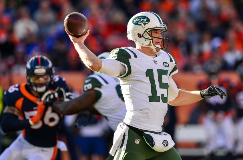 DENVER, CO - DECEMBER 10: Quarterback Josh McCown