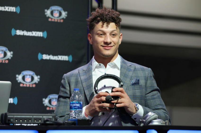 Patrick Mahomes II (Photo by Cindy Ord/Getty Images for SiriusXM)