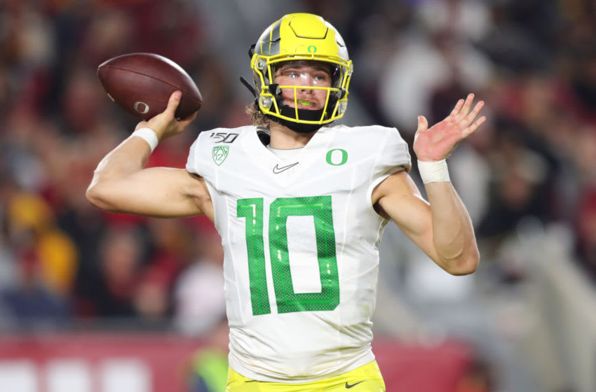 2020 NFL Mock Draft (Photo by Leon Bennett/Getty Images)