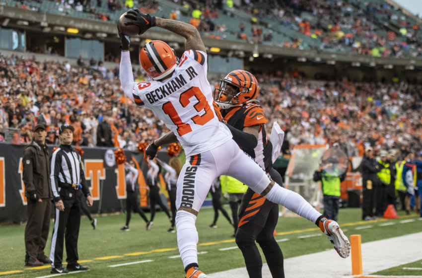 Cleveland Browns, Odell Beckham Jr. (Photo by Bobby Ellis/Getty Images)