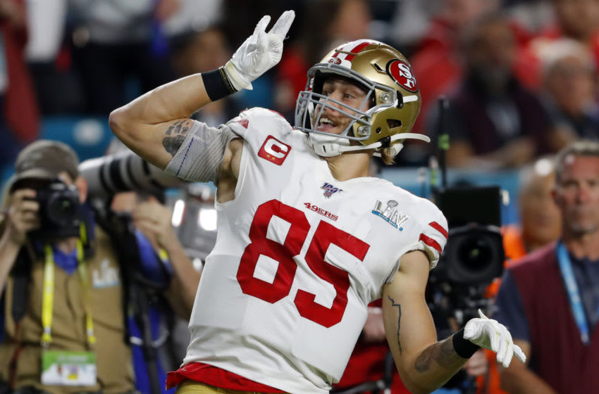 George Kittle, San Francisco 49ers (Photo by Kevin C. Cox/Getty Images)