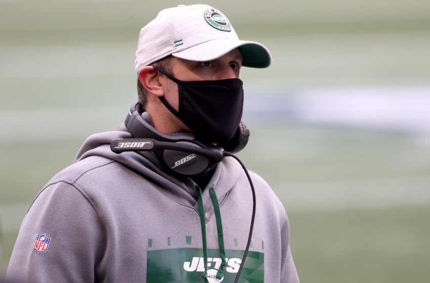 Head coach Adam Gase of the New York Jets (Photo by Abbie Parr/Getty Images)