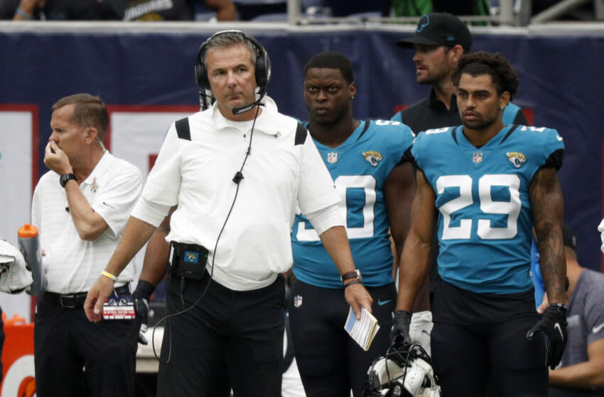 Urban Meyer, Jaguars (Photo by Bob Levey/Getty Images)