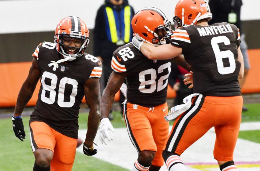 Cleveland Browns, Baker Mayfield (Mandatory Credit: Ken Blaze-USA TODAY Sports)