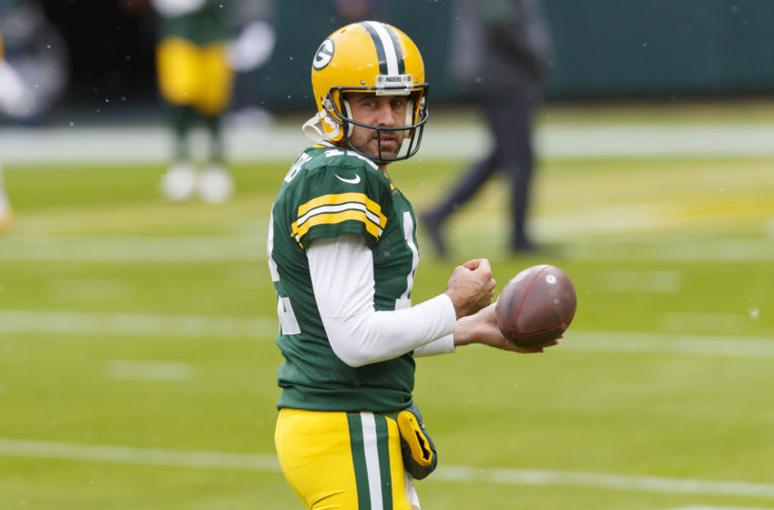 Green Bay Packers, Aaron Rodgers (Mandatory Credit: Jeff Hanisch-USA TODAY Sports)