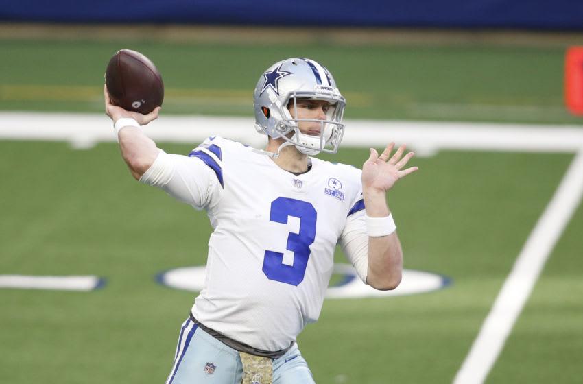 Garrett Gilbert, Dallas Cowboys. Mandatory Credit: Tim Heitman-USA TODAY Sports