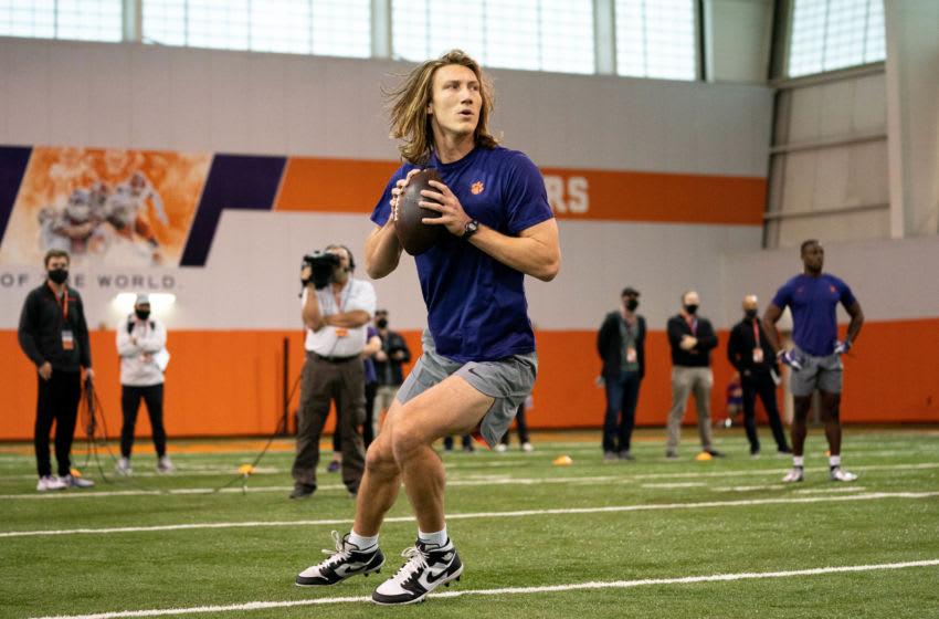 Trevor Lawrence, 2021 NFL mock draft. Mandatory Credit: David Platt/Handout Photo via USA TODAY Sports