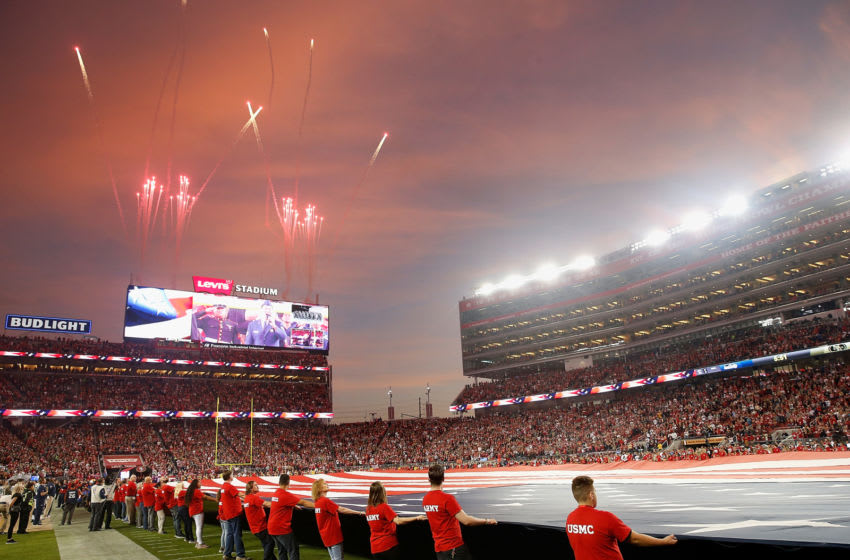 San Francisco 49ers and the Seattle Seahawks at Levi's Stadium (Photo by Lachlan Cunningham/Getty Images)