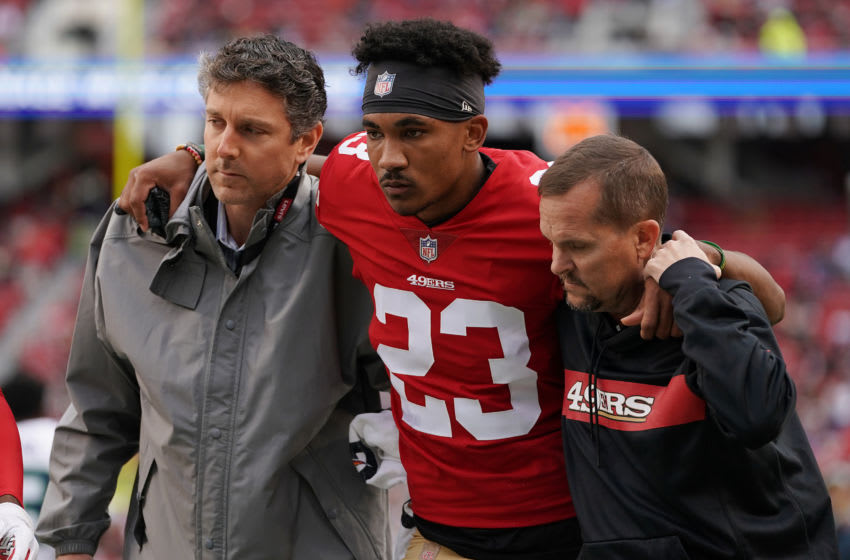 Ahkello Witherspoon #23 of the San Francisco 49ers (Photo by Robert Reiners/Getty Images)