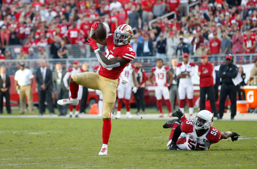 Jeff Wilson Jr. #30 of the San Francisco 49ers (Photo by Michael Zagaris/San Francisco 49ers/Getty Images)