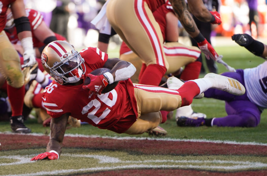 Tevin Coleman, San Francisco 49ers (Photo by Thearon W. Henderson/Getty Images)