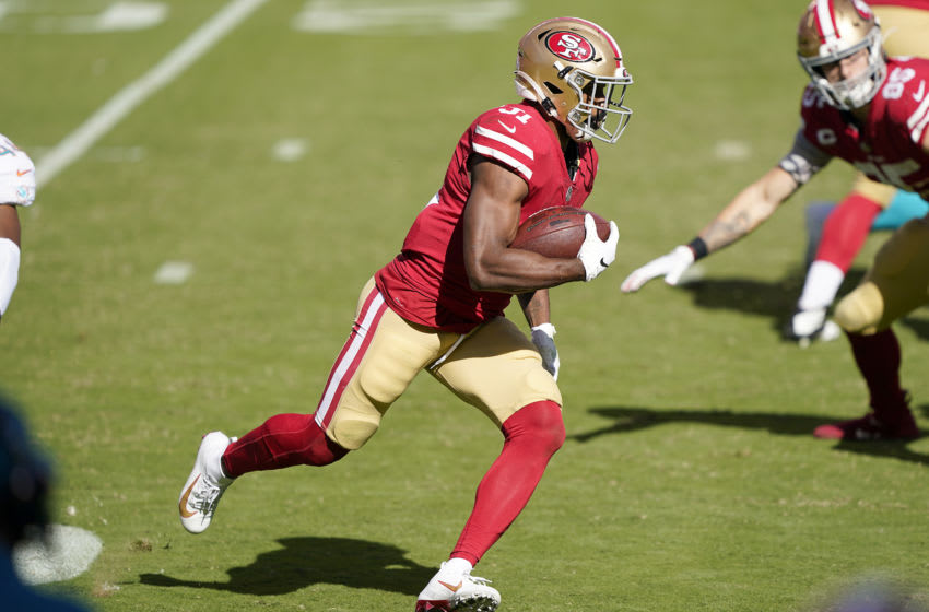 Raheem Mostert, San Francisco 49ers (Photo by Thearon W. Henderson/Getty Images)