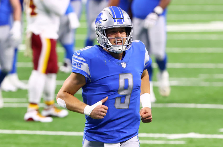 Matthew Stafford #9 of the Detroit Lions (Photo by Rey Del Rio/Getty Images)