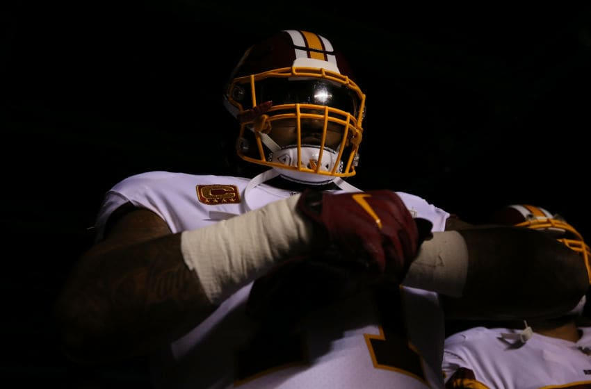 Trent Williams #71 of the Washington Redskins (Photo by Abbie Parr/Getty Images)