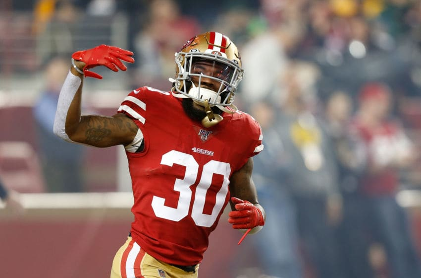 Jeff Wilson #30 of the San Francisco 49ers (Photo by Lachlan Cunningham/Getty Images)