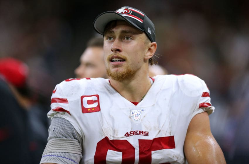George Kittle #85 of the San Francisco 49ers (Photo by Jonathan Bachman/Getty Images)