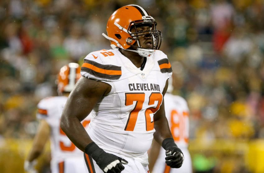 Shon Coleman #72 of the Cleveland Browns (Photo by Dylan Buell/Getty Images)