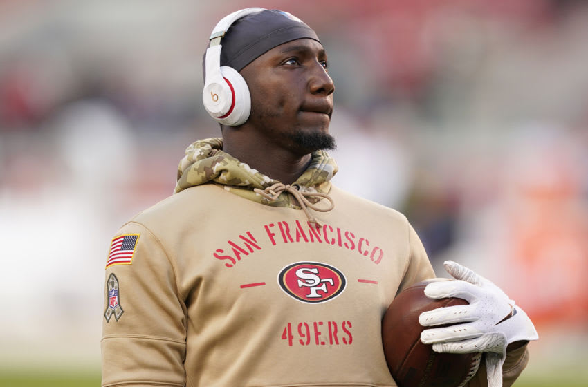 Wide receiver Deebo Samuel #19 of the San Francisco 49ers (Photo by Thearon W. Henderson/Getty Images)