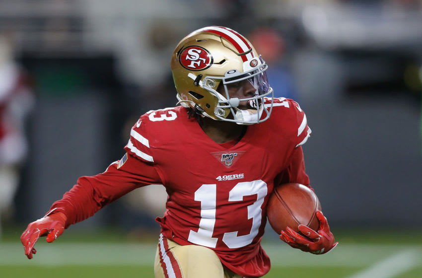 Richie James #13 of the San Francisco 49ers (Photo by Lachlan Cunningham/Getty Images)