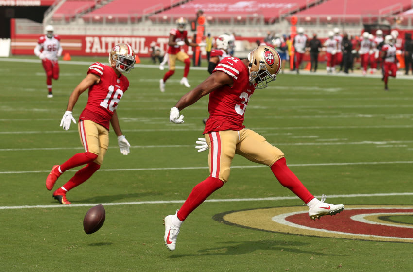 Raheem Mostert #31 of the San Francisco 49ers (Photo by Ezra Shaw/Getty Images)