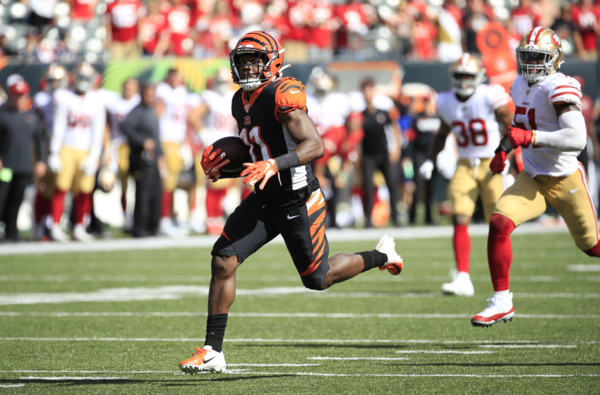 John Ross III #11 of the Cincinnati Bengals (Photo by Andy Lyons/Getty Images)