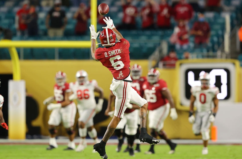 DeVonta Smith #6 of the Alabama Crimson Tide (Photo by Kevin C. Cox/Getty Images)