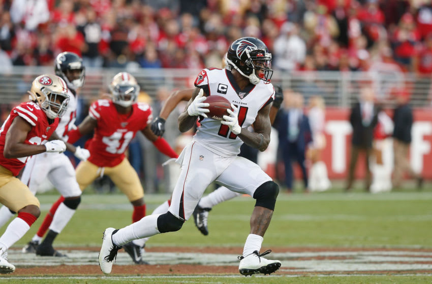 Julio Jones #11 of the Atlanta Falcons (Photo by Lachlan Cunningham/Getty Images)