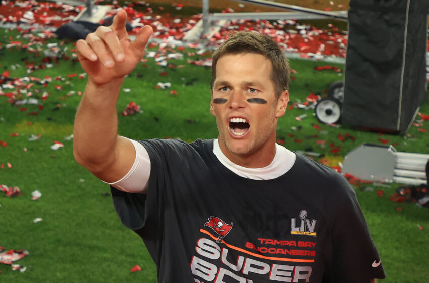 Tom Brady #12 of the Tampa Bay Buccaneers (Photo by Mike Ehrmann/Getty Images)