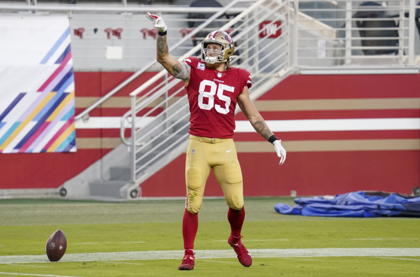 San Francisco 49ers tight end George Kittle (85) Mandatory Credit: Kyle Terada-USA TODAY Sports